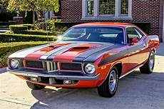 1972 plymouth barracuda numbers matching 340ci muscle car