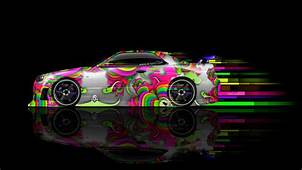 Tony Kokhan Nissan Skyline Gtr R34 Side Abstract