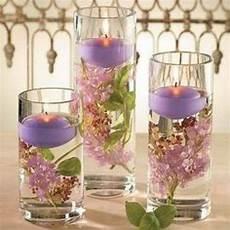 vase bougie flottante bougies flottantes parme decoration mariage pas cher
