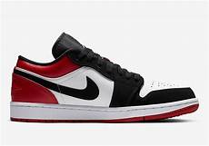 air 1 low sb black toe 553558 116 release info