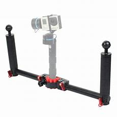 Puluz Pu3040 Dual Handle Aluminium Alloy by Complete Tripods Puluz Pu270 Dual Handle Handheld Grip