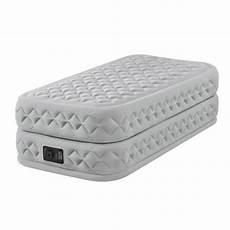 matelas lit gonflable intex supreme bed fiber tech 1 place