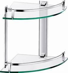 badezimmer eckregal glas badezimmer