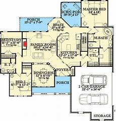 one story house plans with basement one story living with walkout basement 86200hh