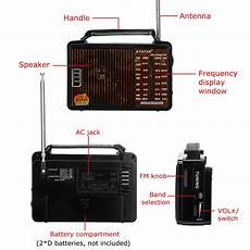 608ac Portable Retro Radio Band Loud by Rx 608ac Portable Retro Fm Am Sw1 Sw2 Radio 4 Band Loud