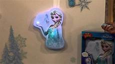 disney s frozen interactive light up wall friend with sound with stacey stauffer youtube