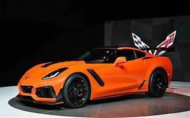 HD Wallpaper 2020 Corvette Orange