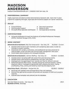 best administrative assistant resume exle livecareer