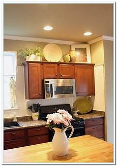 Home Decor Ideas Kitchen Cabinets by 5 Charming Ideas For Above Kitchen Cabinet Decor Home
