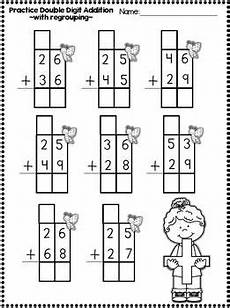 addition without regrouping grade 1 freebie in the preview digit addition and