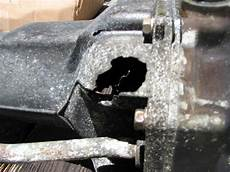 excessive oil from outboard exhaust f225 teardown exhaust corrosion repair the hull truth boating and fishing forum