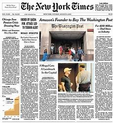 Malvorlagen New York Times Will The New York Times Be Next To Be Sold Wbur News