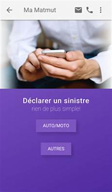Matmut Services Mobiles Matmut Application Assistance