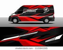Cargo Van Decal Truck And Car Wrap Vector Graphic