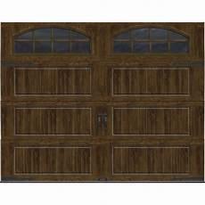 garage doors 8 x 10 ideal door 174 designer oak walnut insulated garage door with