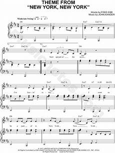 frank sinatra quot theme from new york new york quot sheet music in d major transposable download