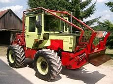 mb trac forst mercedes mb trac 900 forst traktor technikboerse