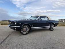 1965 Ford Mustang Convertible V8auto Power Steering