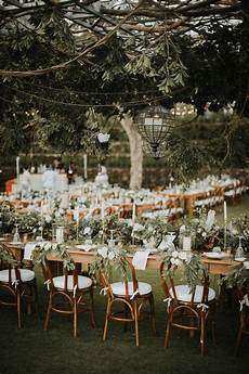 tropical outdoor wedding reception decor