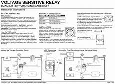 voltage sensitive relay voltage sensitive relays the hull boating and fishing