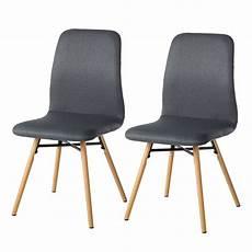 esszimmerstühle grau stoff polsterstuhl dunkelgrau bestseller shop f 252 r m 246 bel und