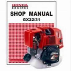 small engine service manuals 1995 honda accord engine control honda gx22 gx31 engine shop manual
