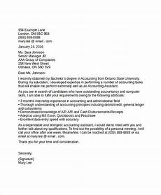 sle of application letter for the post of an accountant accountant cover letter