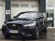 jaguar f pace tuning jaguar f pace with new exhaust courtesy of tvw car design carz tuning
