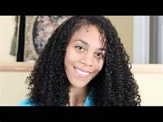 wash and go curly hair routine 3b 3c natural hair youtube