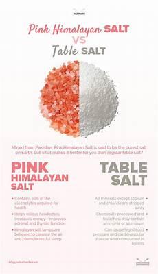 Himalaya Salz Inhaltsstoffe - pink himalayan salt vs table salt fitnes health