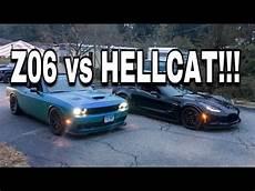 Z06 Vs Hellcat