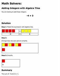 algebra tiles worksheet 8th grade worksheet