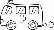 rescue vehicles coloring pages 16411 fast ambulance coloring page wecoloringpage