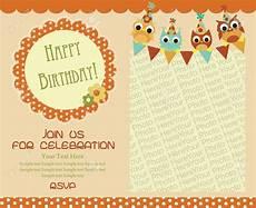 happy birthday invitation card template baby shower invitation templates baby shower invitation