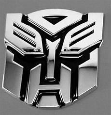 3d logo protector autobot transformers emblem badge