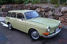 No Reserve 1971 Vw 1600 Type 3 Squareback Wagon