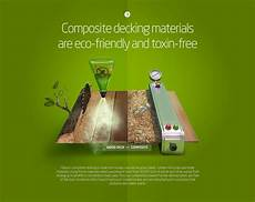 graphigeek infographic decking material composite composition