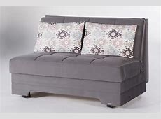 Twist Pure Gray Loveseat Sleeper by Istikbal (Sunset)