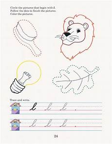 abeka cursive handwriting worksheets 21966 writing with phonics k4 cursive phonics phonics sounds cursive