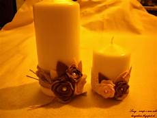 come decorare candele scrap e non alterare cornici e candele