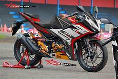 Modifikasi Striping All New Cbr150r by Modifikasi Striping All New Cbr150r Black Sporty Aprilia