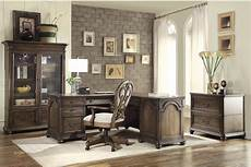 oak home office furniture belmeade old world oak home office set from riverside