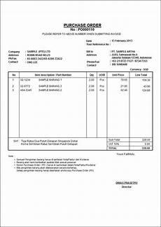 contoh faktur pembelian dengan akuntansi surat telepon