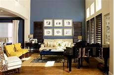 blaue wandfarbe wohnzimmer 30 blue walls design ideas