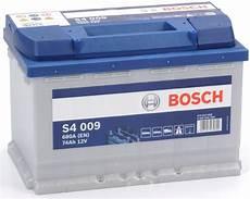 batteria auto bosch 0092s40090 batteria auto bosch silver s4 009 74 ah ere 680a 12v pronto uso ebay