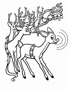 rudolph coloring pages free printable rudolph coloring pages