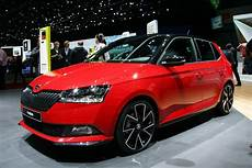 New Skoda Fabia Facelift Revealed Pictures Auto Express