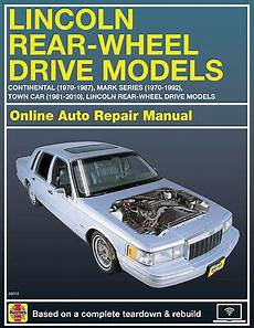 best auto repair manual 2006 lincoln town car head up display 2006 lincoln town car haynes online repair manual select access ebay
