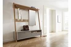 meuble d entr 233 e vestiaire en bois gris ch 234 ne