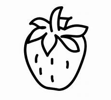 Malvorlagen Obst Mit Gesicht Kostenlose Malvorlage Obst Und Gem 252 Se Erdbeere Zum